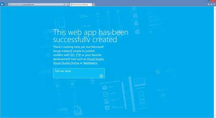 Web App criado