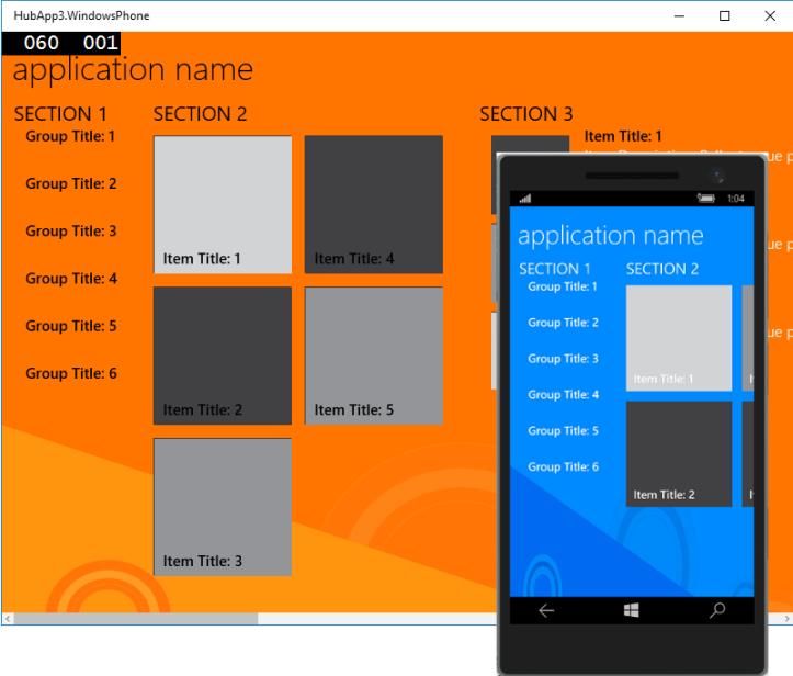 Projeto HubApp migrado para Windows 10