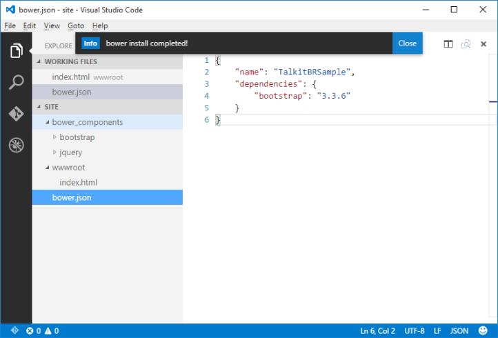 desenvolvendo_sites_com_vscode_bower_Install