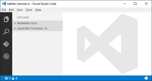 Crie aplicações Javascript com TypeScript no Visual Studio