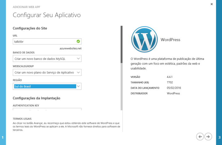 wordpress_azure_configure_url