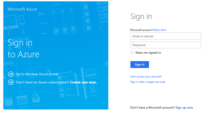 wordpress_azure_login
